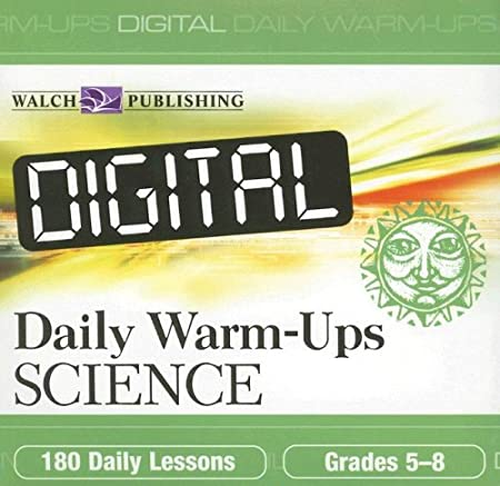 Digital Daily Warm ups: Science Grades 5-8