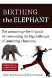 img - for Birthing the Elephant: A Woman's Go-for-it! Guide to Overcoming the Big Challenges of Launching a B book / textbook / text book
