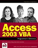 img - for Access 2003 VBA Programmer's Reference Paperback April 9, 2004 book / textbook / text book