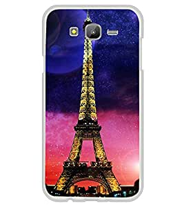 iFasho Effile Tower Back Case Cover for Samsung J5