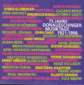 Various - Donaueschinger Musiktage 1996