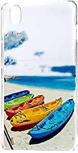Purple Eyes Exclusive Designer Printed Back Cover for One Plus X (Shoe Boat)