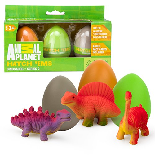Animal Planet Grow Eggs- Dinosaur- Hatch
