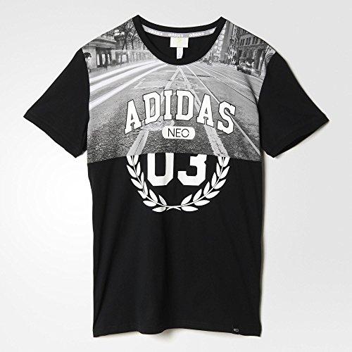 (アディダス)adidas Collage Tee Black メンズ Tシャツ 半袖 ショートスリープ トップス【並行輸入品】