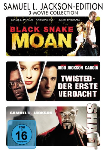 Black Snake Moan / Shaft / Twisted - Der Erste Verdacht [3 DVDs]