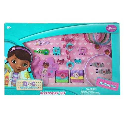 Disney The Doc Is In 4 Piece Doc Mcstuffins Toddler: Disney Doc McStuffins 25 Piece Kids Jewelry And Hair