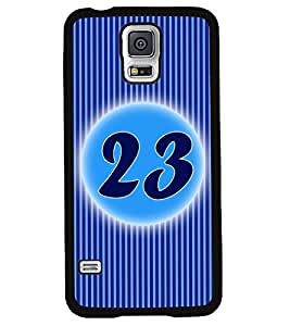 Fuson 2D Printed Numerology Designer back case cover for Samsung Galaxy S5 Mini - D4243