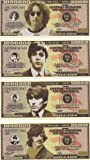 The Beatles $Million Dollar$ Novelty Bills Complete Set of 4
