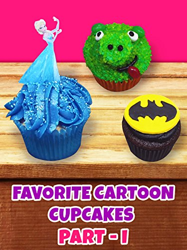Your favorite cartoon cupcakes