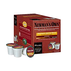 Newman's Own Keurig Single-Serving Coffee Pods/K-Cups ; Organic Special Blend
