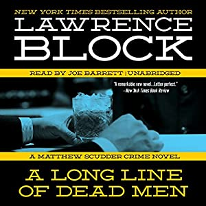 A Long Line of Dead Men Audiobook
