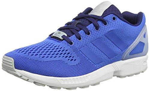 adidas Zx Flux - Zapatillas de deporte para hombre, Azul / Blanco, EU 45 1/3 (UK 10.5)