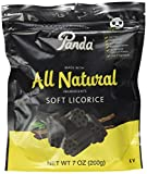 Panda® Made from All Natural Ingredients Soft Licorice.<br>The real taste of Licorice®.<br>Fat free.<br>No preservatives.<br>No artificial colors.<br>No artificial flavors.<br>Made with real licorice root extract.