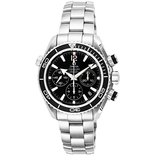 [オメガ]OMEGA 腕時計 シーマスター プラネットオーシャン ブラック文字盤 コーアクシャル自動巻 600M防水 222.30.38.50.01.001 レディース 【並行輸入品】