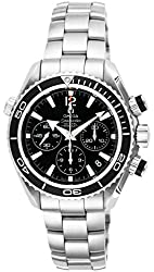 OMEGA watches Seamaster Planet Ocean Black Dial 600M waterproof Co-Axial Automatic Chronograph 222.30.38.50.01.001