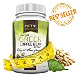 NEW!!! 100% Pure Organic Green Coffee Bean Weight Loss Formula with WGCP � Chlorogenic Acid � 60 Count � Dr Oz Recommended - Fat Burner - Natural Weight Loss Supplement - Best Premium Quality