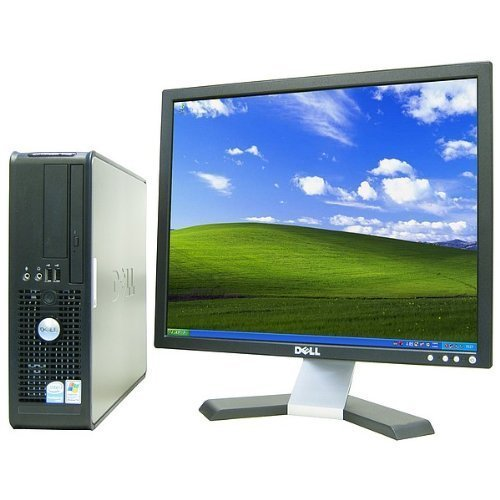 Dell OptiPlex 745 Desktop Complete Computer Package with Windows 7 Home 32-Bit - PD 2.6Ghz, 2GB, 80GB, Keyboard, Mouse, & Dell 19