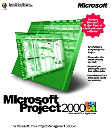 Microsoft Project 2000 Upgrade [Old Version]