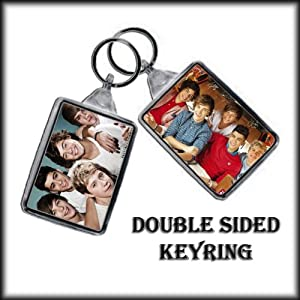 One Direction Double Sided Key Ring - 004 by ONE DIRECTION
