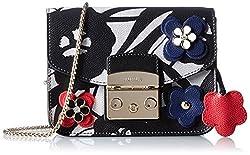 Furla Floral Metropolis Mini Cross Body Bag