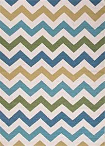 Amazon.com - Jaipur Maroc Zazzy White 8 x 10 Area Rug (MR101) -