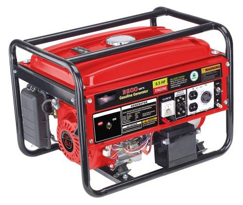 3500 Watts 6.5Hp Gasoline Generator With Electric Start