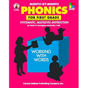 Month-by-Month Phonics for First Grade: Systematic, Multilevel Instruction for First Grade (Month-By-Month (Scholastic))