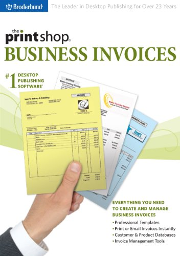 The Print Shop: Business Invoices 2009