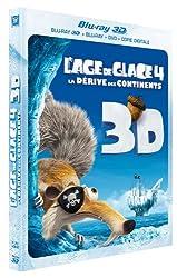 L'Age de glace 4 : La dérive des continents - Blu-ray 3D [Blu-ray]