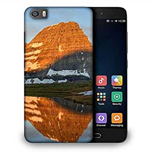 Snoogg Brown Mountain Designer Protective Phone Back Case Cover For Samsung Galaxy J1