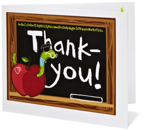Amazon Gift Card - Print - Thank You, Teacher (Chalkboard)