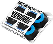 Bones Wheels Hardcore Black / Blue Skateboard Bushings - Includes 4 Pieces - Soft