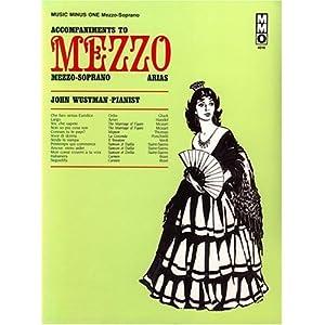 Amazon.com: Music Minus One Mezzo-Soprano: Famous Mezzo-Soprano ...