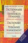 Dictionnaire des ressources humaines fran�ais-anglais, 2e �dition par James