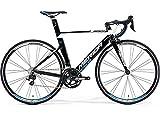 メリダ(MERIDA) 15'REACTO 400 (105 2x11) ロードバイク 50cm ブラック/ホワイト AMA040505-EKWA 完成車