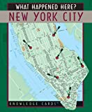 What Happened Here? New York City Knowledge Cards Deck (0764925210) by Pomegranate
