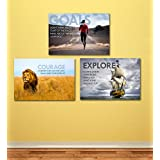 Tallenge - Motivational Poster - 3 Poster Set - A3 Size Unframed Rolled Posters (11.7 Inches X 16.5 Inches Each)