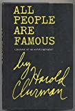 img - for All people are famous (instead of an autobiography) book / textbook / text book