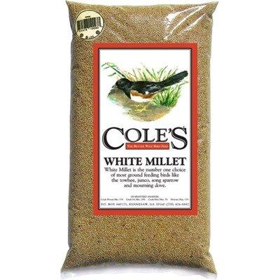 Cheap Cole's MI10 White Millet Bird Seed, 10-Pound (COLESGCMI10)