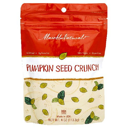 Buy Mareblu Naturals Pumpkin Seed Crunch, 4-Ounce Pouches (Pack of 8) (MarebluNaturals, Health & Personal Care, Products, Food & Snacks, Snacks Cookies & Candy, Snack Food, Trail Mix)