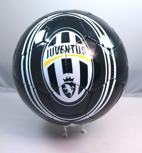 Handsewn Futbol Soccer Ball - Black & White - Juventus Design at Amazon.com