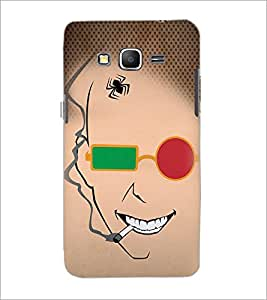 PrintDhaba Funny Sketch D-4489 Back Case Cover for SAMSUNG GALAXY GRAND PRIME (Multi-Coloured)