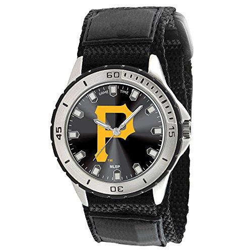 Pittsburgh Pirates Game Time Veteran Wrist Watch P Logo