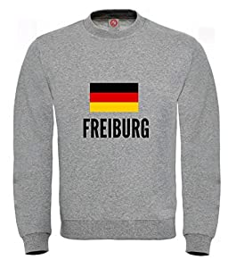 Sweatshirt Freiburg city Gray