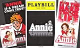 """Faith Prince """"ANNIE"""" Anthony Warlow / Charles Strouse 2013 Broadway Playbill with Four Flyers"""