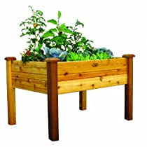 Elevated Gronomics Finished Garden Bed, 34-Inch by 48-Inch by 32-Inch