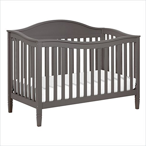 DaVinci Laurel 4-in-1 Convertible Crib, Slate