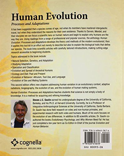 Human Evolution: Processes and Adaptations (Revised Second Edition)
