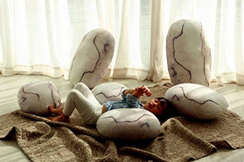 Vercart ET Rocks Living Stone Pillows No.10 6# Stone Stripes 32cm*30cm*13cm