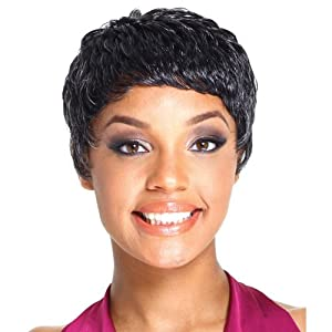 R&B Collection Synthetic Full Wig - APPLE (#4/30 - Light Brown/Medium Brown Red)
